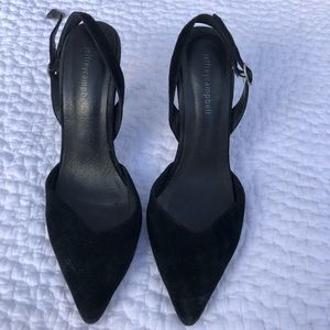 Jeffrey Campbell Black Kitten Heels